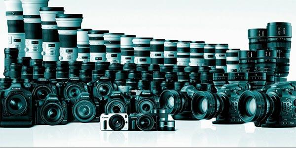 Comprar equipamento fotográfico usado