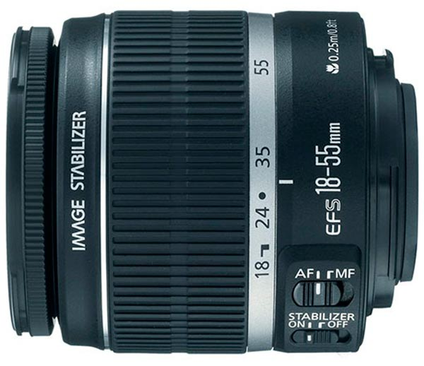 Canon EF-S 18-55 mm f/4-5.6 IS STM II