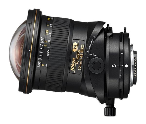 Nikon PC NIKKOR 19 mm f/4 E ED