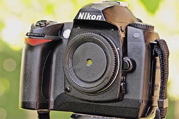 Câmera DSRL Pinhole