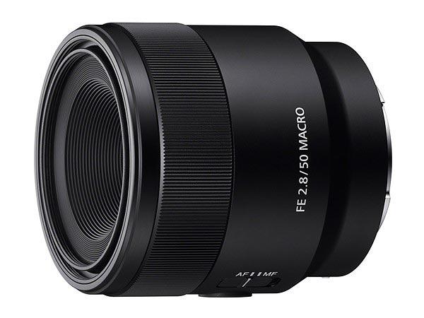 Sony FE 50 mm f/2.8 Macro
