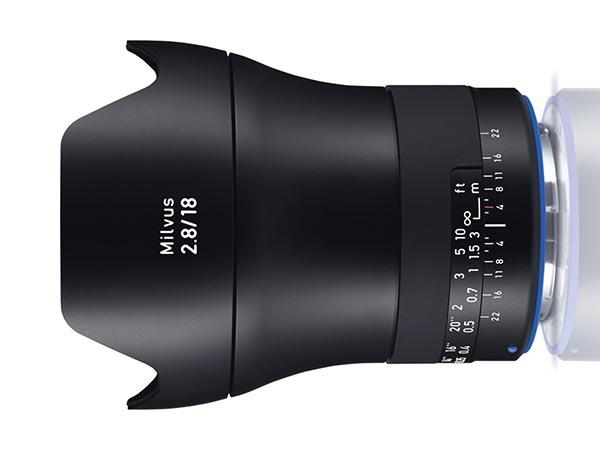 Zeiss Milvus 18 mm f/2.8
