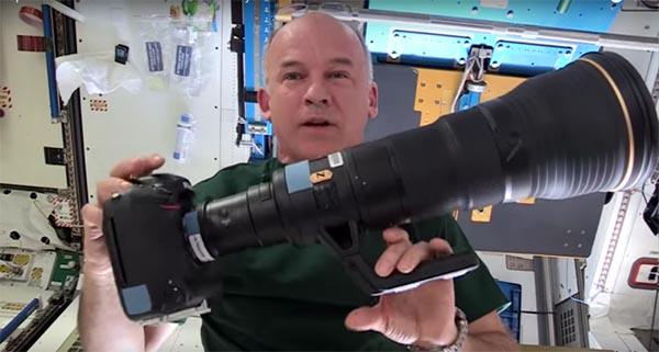 Jeff Williams com sua Nikon