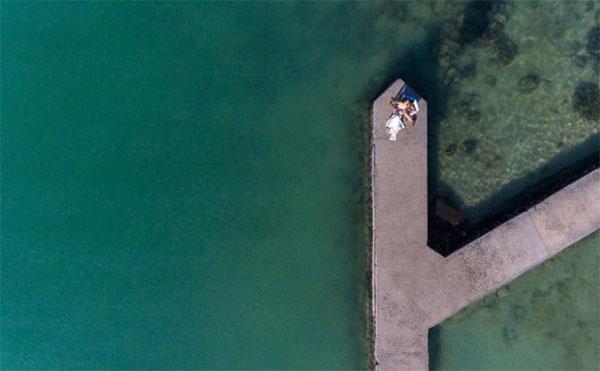 Uso de drones na fotografia de casamento