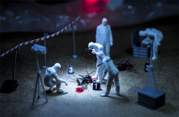 Fotografias de miniaturas do fotógrafo Péter Csákvári