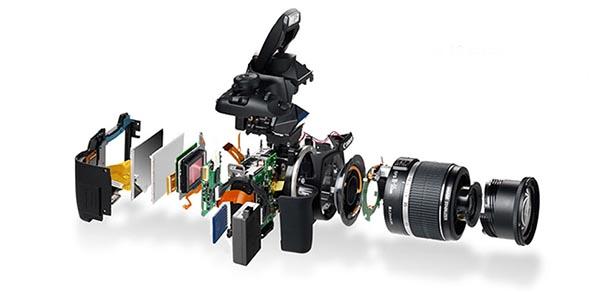 Assistência técnica para câmeras fotográficas