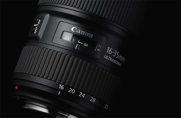 Lente Canon EF 16-35mm f/2.8 III USM