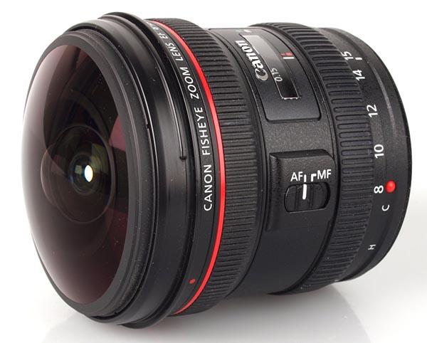 Objetiva Canon EF 8 – 15 mm f/4L USM