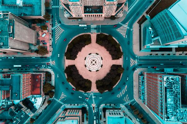 Melhores fotografias de drones